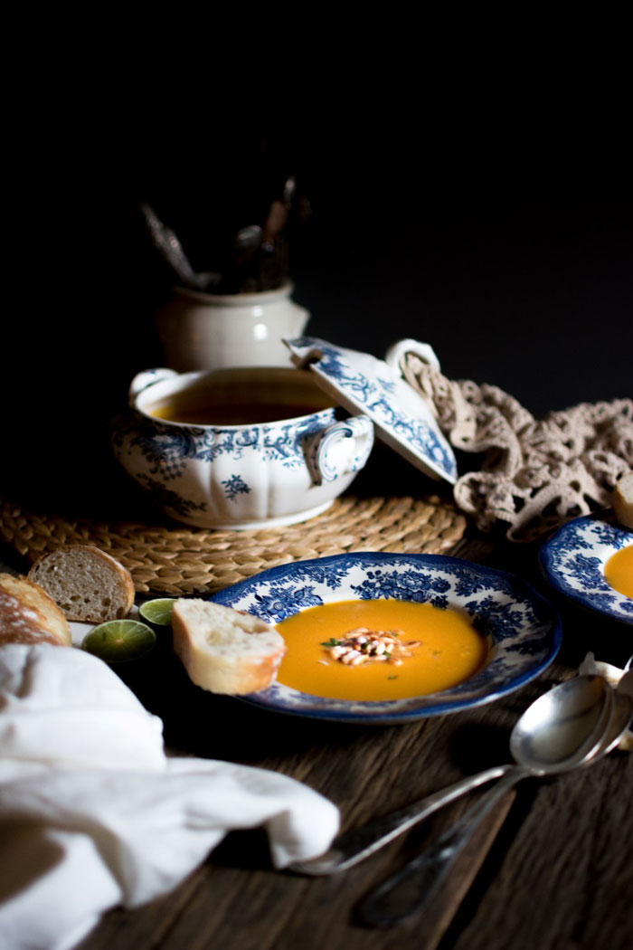 Zoete aardappelsoep met kokos en limoenlunch recepten %vegan_studiomarisa_heutink